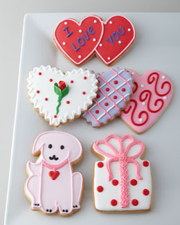 O MY GOODNESS Six Valentine's Cookies