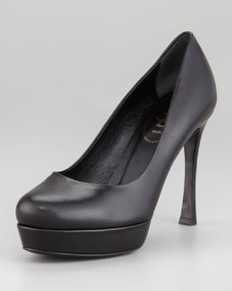 Yves Saint Laurent Gisele Platform Pump