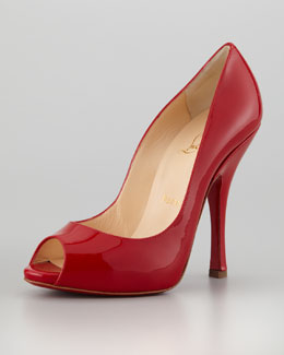 Christian Louboutin Maryl Patent Red Sole Pump