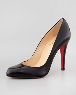 Christian Louboutin Decollete Jazz Red Sole Pump