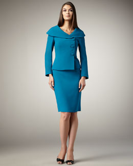 Tahari Shawl-Collar Suit