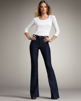 Mother Denim 'The Drama' High-Waist Flare