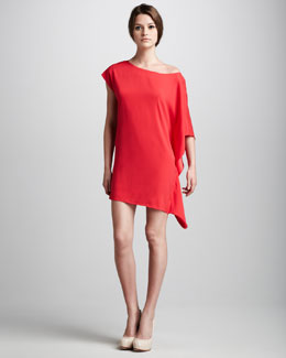 Ramy Brook Marci Asymmetric Dress