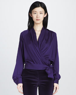 Rachel Zoe Annelise Wrap Top