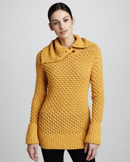 Lauren Hansen Bobble Stitch Sweater
