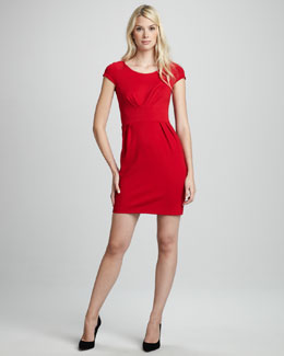 Amanda Uprichard Fitted Ponte Dress