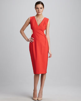 Rachel Roy Contrast-Back Dress