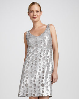 Isda & Co Sequined Rings Dress