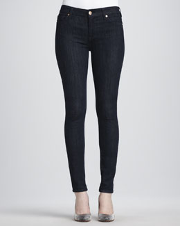 7 For All Mankind Slim Illusion Rinse Skinny Jeans