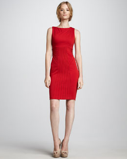 Catherine Malandrino Sleeveless Ponte Dress