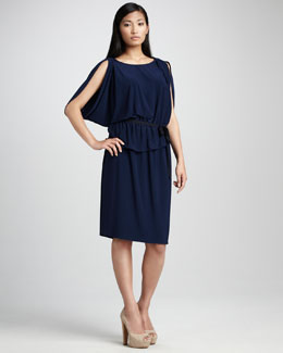 T Tahari Alice Jersey Dress