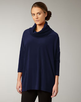 Joan Vass Velour Tunic