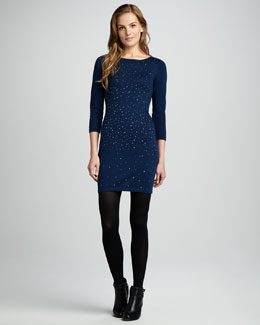 Design History Studded Knit Dress