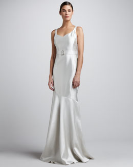 Rickie Freeman for Teri Jon Sleeveless Sweetheart Gown
