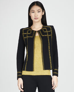 Misook Collection Francesca Graphic Jacket