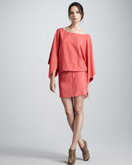 Ramy Brook Piper Blouson Dress