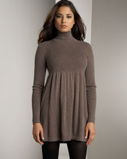 Magaschoni Mock-Neck Dress