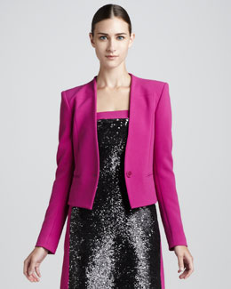 Rachel Roy Begonia Cropped Jacket
