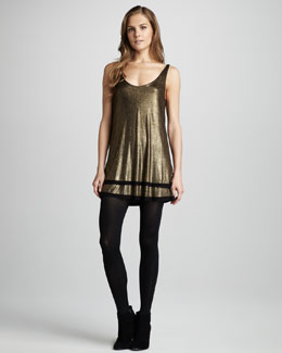 Townsen Little Dipper Metallic Dress