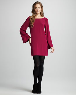 Elizabeth and James Dani Bell-Sleeve Dress