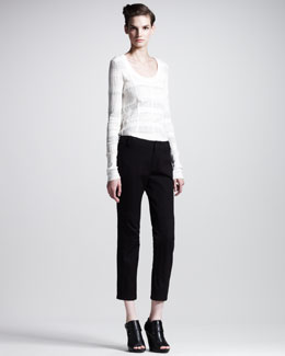10 Crosby Derek Lam Slim Cropped Pants