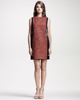 10 Crosby Derek Lam Sleeveless Colorblock Dress