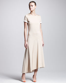 Reed Krakoff Jersey Short-Sleeve Dress