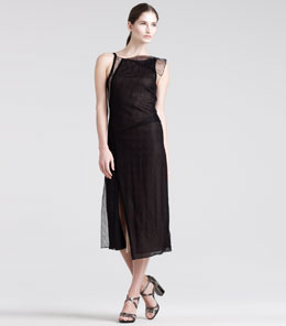 Reed Krakoff Modern Draped Lace Dress