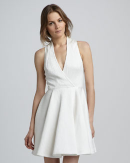 Rachel Zoe Caroline Faux-Wrap Dress