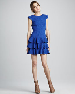 Rachel Zoe Ginta Drop-Waist Dress