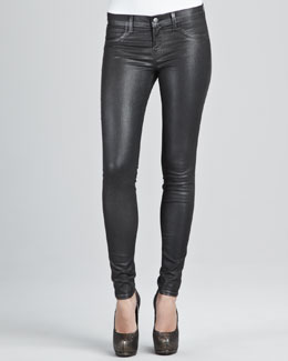 J Brand Jeans 901 Moonwalk Coated Leggings