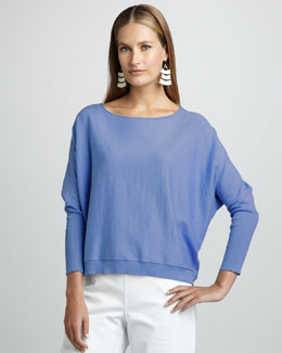 Eileen Fisher Organic Long-Sleeve Top