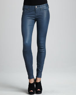 True Religion Casey Stretch-Leather Leggings