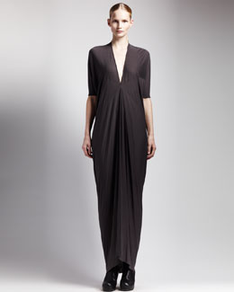 Rick Owens Jersey Kite Maxi Dress