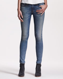 rag & bone/JEAN Distressed Skinny Monument Jeans