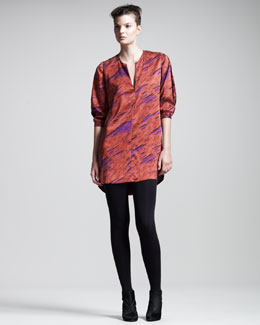 Kelly Wearstler Slice Tunic Dress