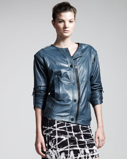 Kelly Wearstler Fallen Leather Jacket