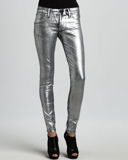 Sinclair Coe Metallic Silver Dreams Leggings