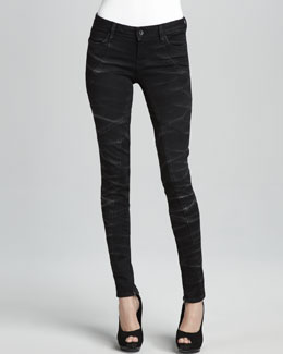 Sinclair Eero Puzzle-Pattern Skinny Leggings