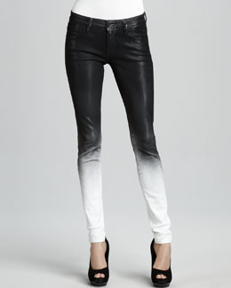 Sinclair Elon Ghostwind Spray-Coat Skinny Jeans