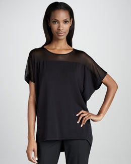 Lafayette 148 New York Oversized Cocoon Sweater