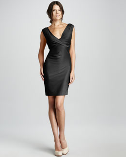 Diane von Furstenberg Parker Ruched Jersey Dress