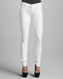 7 For All Mankind The Skinny Jeans, Stark White