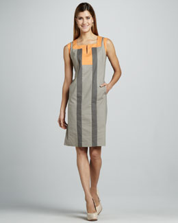 Lafayette 148 New York Maria Colorblock Dress