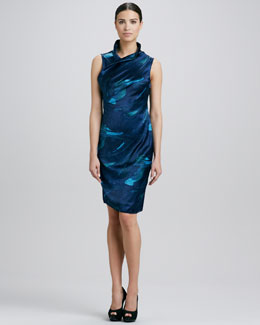 Elie Tahari Frivia Printed Dress