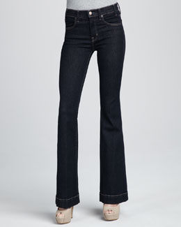 TEXTILE Elizabeth and James Linda Flared Trouser Jeans