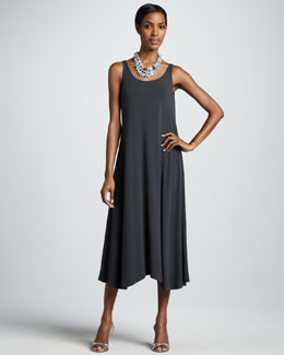 Eileen Fisher Sleeveless Jersey Dress