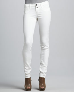 Rich and Skinny Button-Front Skinny Jeans