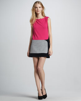 Bailey 44 Judo Colorblock Dress