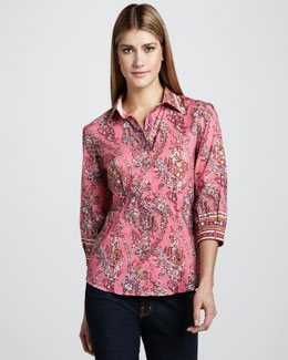 Robert Graham Dawn Paisley Blouse